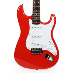 Fender Squier Affinity Series Stratocaster with Rosewood Fingerboard in Race Red