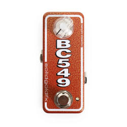Solid Gold FX BC549 Mini Boost Pedal
