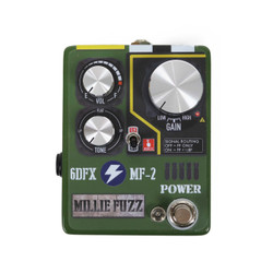 6 Degrees FX Millie Fuzz Muff / Fuzz Face Style Fuzz Pedal