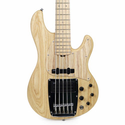 Ibanez ATK815E Premium ATK Series 5-String Electric Bass in Natural Flat