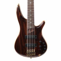 Ibanez SR1905E Premium Series 5 String Electric Bass in Natural Low Gloss with Gig Bag
