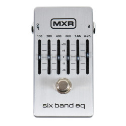 MXR Six Band EQ Equalizer Guitar Pedal