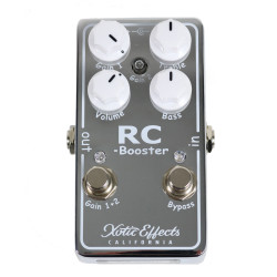 Xotic Effects RC Booster Transparent Boost Pedal