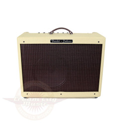2005 Fender LTD Hot Rod Deluxe 40W 1x12 Tube Combo Amp Blonde & Oxblood