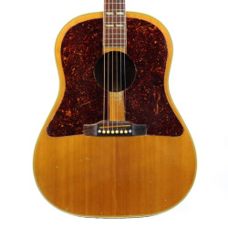 Vintage 1955 Gibson Country Western Dreadnought Acoustic Guitar Natural Finish