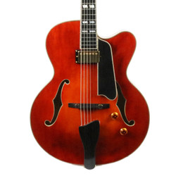 Eastman AR580CE-HB Archtop Electric Guitar in Honey Burst with Case