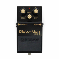 Boss DS-1 40th Anniversary Distortion Pedal in Black & Gold