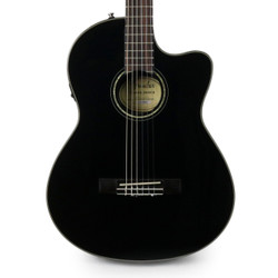 Fender CN-140SCE Concert Nylon Acoustic Electric in Black