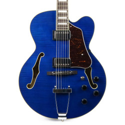 Ibanez AF75FM Artcore Hollow Body in Transparent Blue