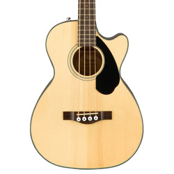 Fender CB-60SCE Acoustic Electric Bass in Natural