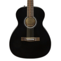 Fender CT-60S Travel Size Acoustic Guitar in Black
