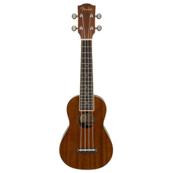 Fender Seaside Soprano Ukulele Uke in Natural