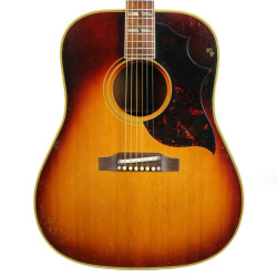 Vintage 1964 Gibson Southern Jumbo Dreadnought Acoustic Guitar Sunburst