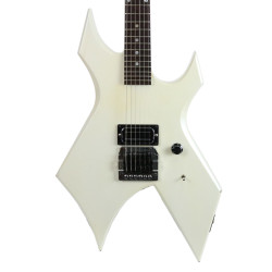 Vintage 1988 B.C. Rich Warlock Standard Electric Guitar White Pearl Metallic Finish
