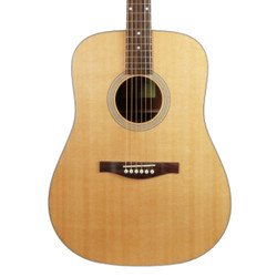 Eastman AC120 Solid Spruce Top Dreadnought with Gig Bag