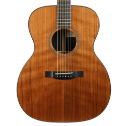 2013 Santa Cruz OMG Orchestra Model Grand Acoustic Guitar Natural Finish