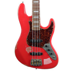 2013 Sandberg California Marlowe DK Jazz Bass Red Relic