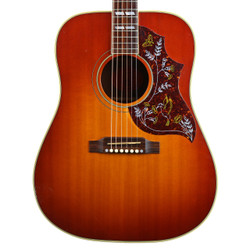 2002 Gibson Hummingbird Dreadnought Acoustic Guitar Sunburst