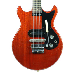 Vintage 1965 Gibson Melody Maker Electric Guitar Cherry Finish