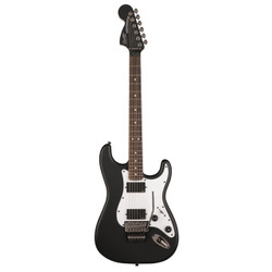 Fender Squier Contemporary Active Stratocaster HH in Flat Black