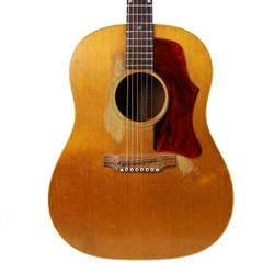 Vintage Late 1960's Gibson J-50 Dreadnought Acoustic Guitar Natural Finish