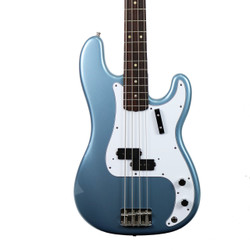 Vintage 1969 Fender Precision Electric Bass Guitar Agave Blue Finish
