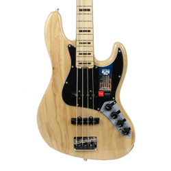 Fender American Elite Jazz Bass Ash Maple Fingerboard in Natural