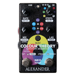 Alexander Pedals Colour Theory Spectrum Sequencer Pedal