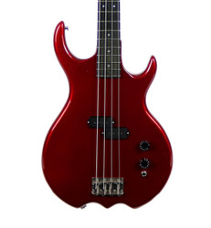 Vintage 1983 USA Kramer Stagemaster Electric Bass Guitar Metallic Red Finish