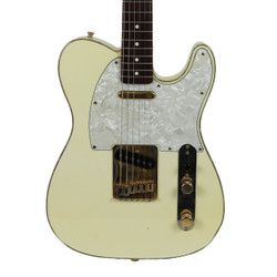 1996 Fender Telecaster Custom Electric Guitar MIJ Olympic White