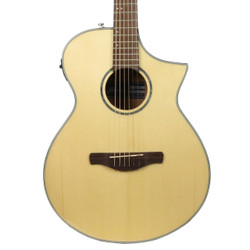 Ibanez AEWC300 Acoustic Electric Guitar in Natural High Gloss