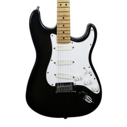 1991 Fender Stratocaster Plus Electric Guitar Translucent Black Sparkle Finish