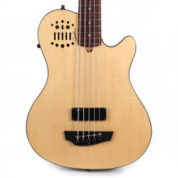 Godin A5 Ultra Fretted Acoustic Electric Bass Guitar B Stock in Natural