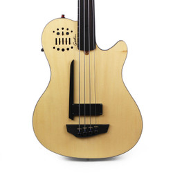 Godin A4 Ultra Fretless Acoustic Electric Bass Guitar B-Stock in Natural