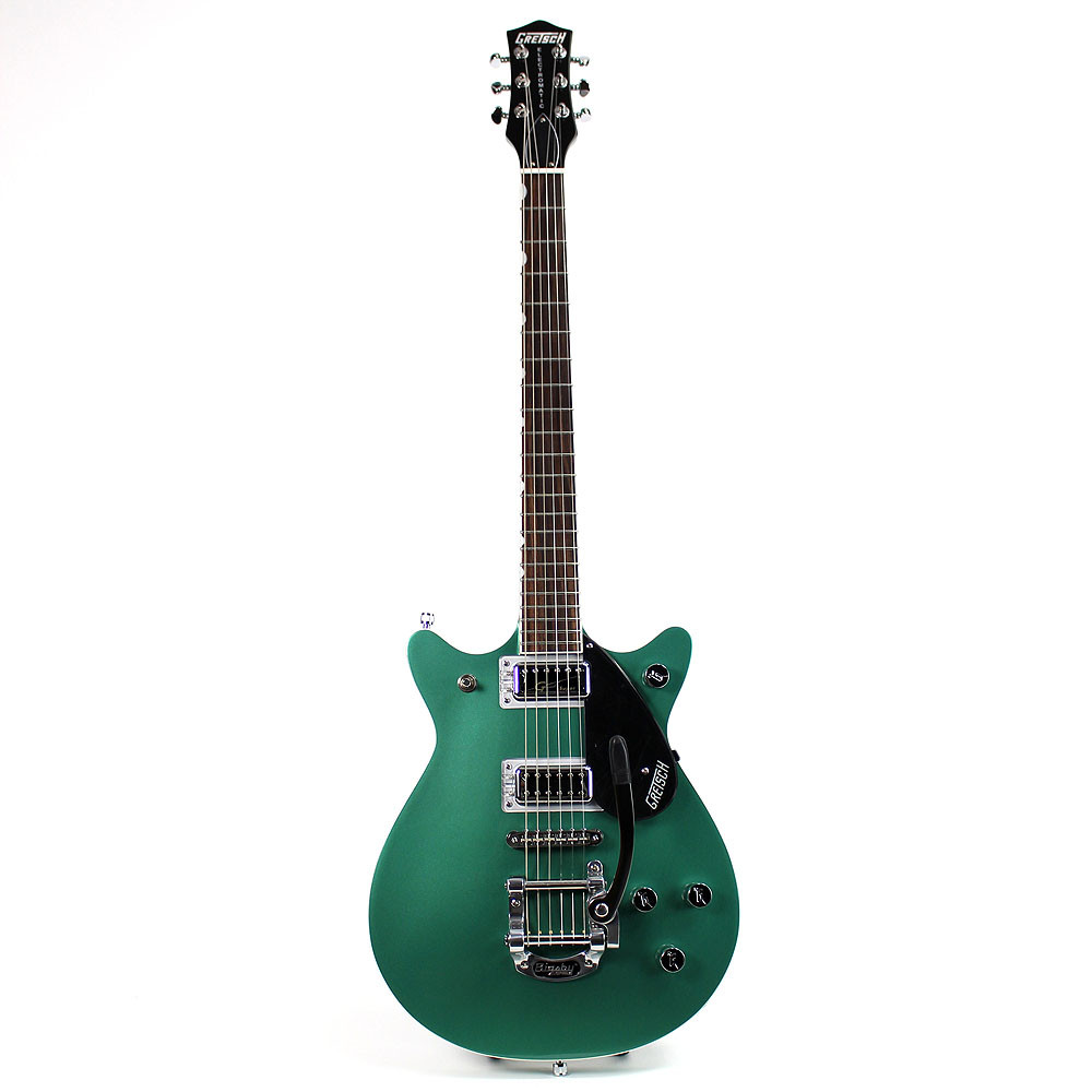 gretsch g5655t cb center block double jet georgia green electromatic guitar ebay. Black Bedroom Furniture Sets. Home Design Ideas