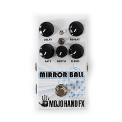 Mojo Hand FX Mirror Ball Analog Voiced Delay Pedal