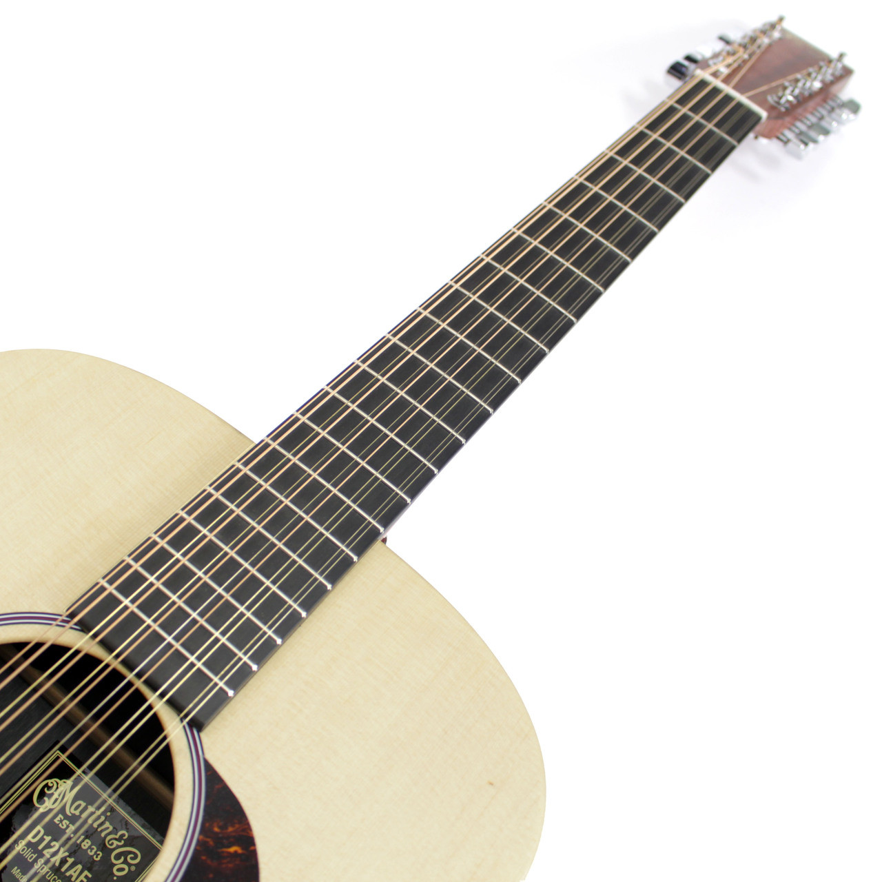 brand new martin d12x1ae 12 string dreadnought acoustic electric guitar natural ebay. Black Bedroom Furniture Sets. Home Design Ideas