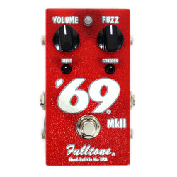 Fulltone '69 MkII Fuzz Distortion Guitar Effect Pedal