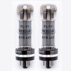 Mesa Boogie EL34 STR-447 Power Tubes Matched Pair