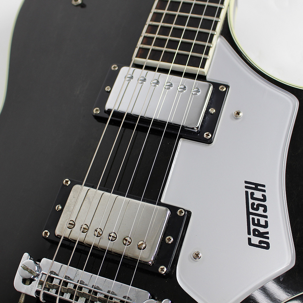 vintage 1979 gretsch super axe electric guitar ebony stain finish ebay. Black Bedroom Furniture Sets. Home Design Ideas