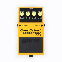Boss OS-2 Overdrive & Distortion Pedal
