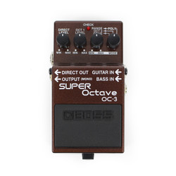 Boss OC-3 Super Octave Pitch Shifter Pedal