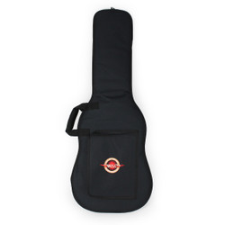 Levy's EM7P Electric Guitar Gigbag Black Poly with Embroidered Cream City Music Logo