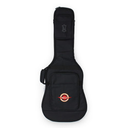 Levy's EM7S Deluxe Electric Guitar Gigbag Black Poly with Embroidered Cream City Music Logo