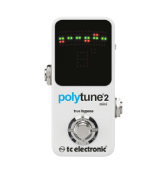 TC Electronic PolyTune 2 Mini Guitar Pedal Tuner