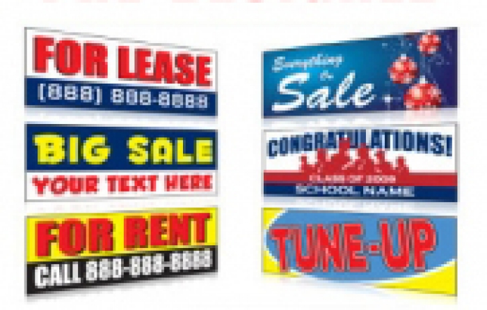 d8d9746520 Signs and Banners | Pre-Designed Advertising Banner Signs For Retail ...