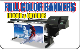 full color banner printing