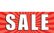 Sale Vinyl Banner Sign Style 1000