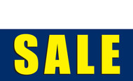 Sale Banner Sign Style 1100