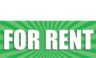 For Rent Vinyl Banner Style 1000